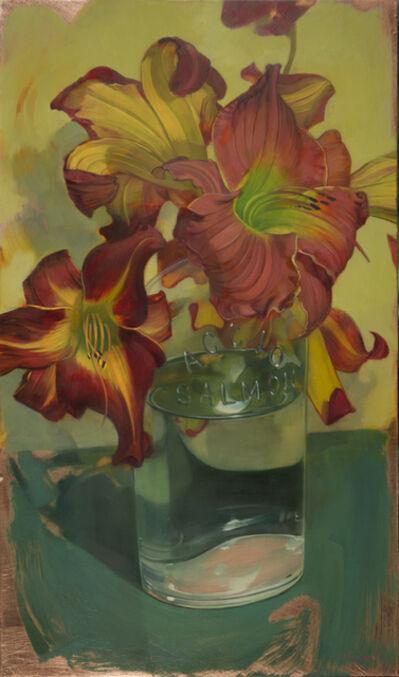 Benjamin J. Shamback, 'Day Lilies in Accio Bottle', 2015