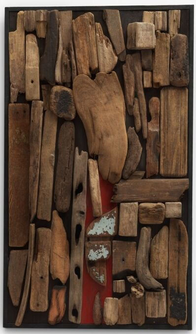 Luis Wells, 'Collage Maderitas 4', 1960