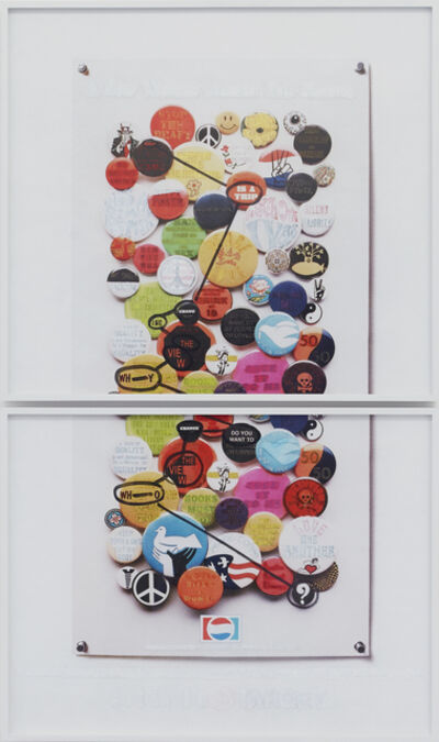 Natalie Czech, 'A poem by repetition by Tom Raworth', 2015