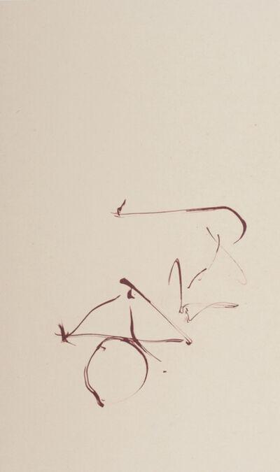 Robert Motherwell, 'Octavio Paz Three Poems 10', 1987