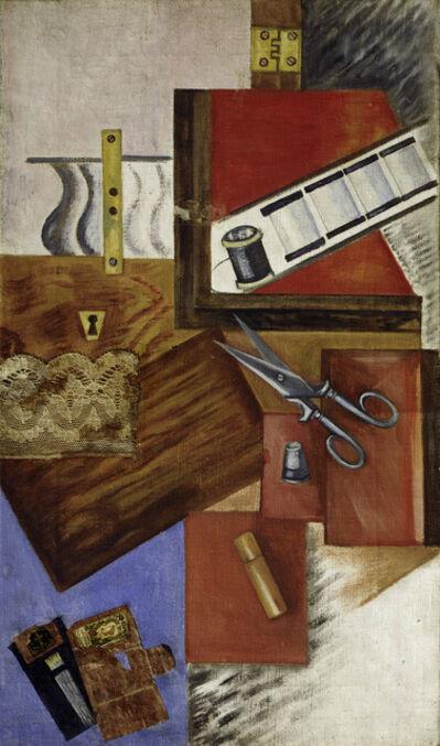 Olga Rozanova, 'Work Box', 1915
