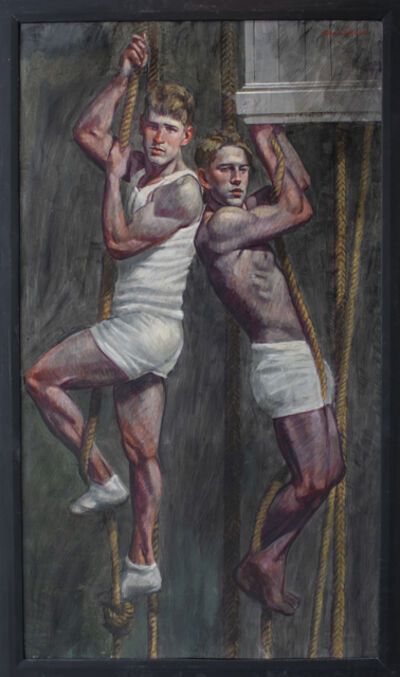 Mark Beard, 'Boys on Ropes', date unknown