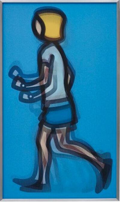 Julian Opie, 'Bibi Running ', 2012