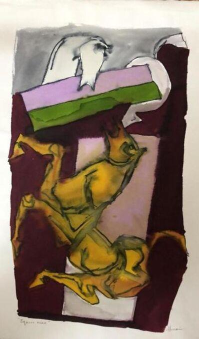 M. F. Husain, 'Equus Nine', 1981