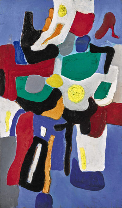 Caziel, 'WC553 - Composition 03.08.1967', 1967