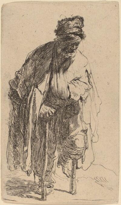 Rembrandt van Rijn, 'Beggar with a Wooden Leg', ca. 1630