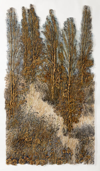 Lesley Richmond, 'INTO THE POPLARS II', 2017