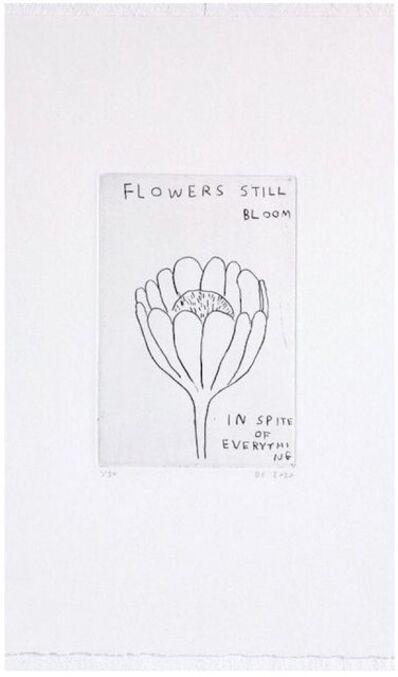 David Shrigley, 'Flowers still Bloom', 2020
