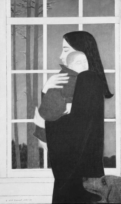 Will Barnet, 'Midnight		', 1985