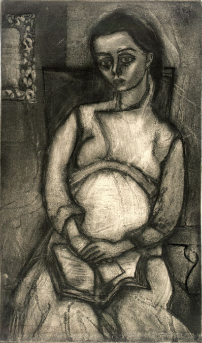 Will Barnet, 'Pregnancy', 1938