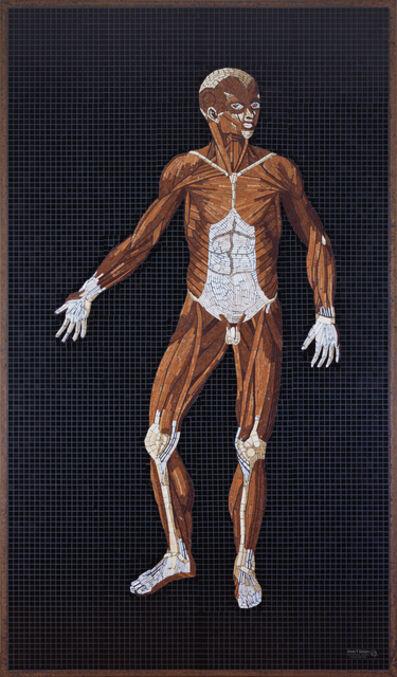 John T. Unger, 'Anatomy Set in Stone, Plate 28'