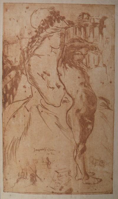 Jacques Villon, 'Menu pour Aymé Kunc', 1902