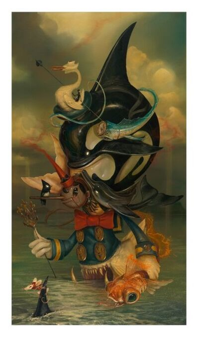 Greg 'Craola' Simkins, 'Beyond the Sea', 2016