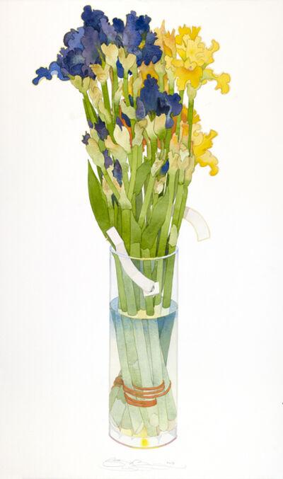 Gary Bukovnik, 'Dark Blue Irises', 2019