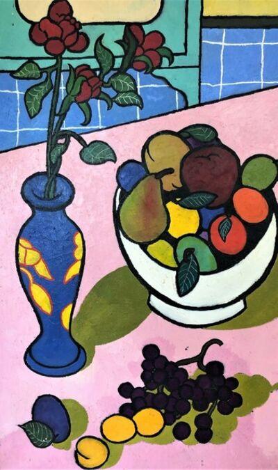 Daniel Brennan, 'Bowl of Fruit and Vase of Flowers', 1960