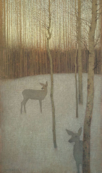 David Grossmann, 'At Dusk in the Winter Forest', 2010-2015