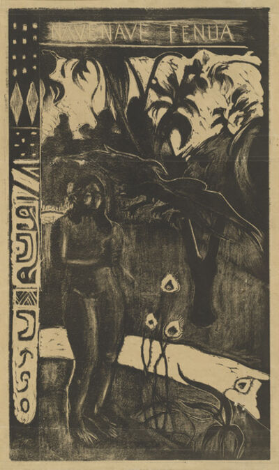 Paul Gauguin, 'Nave Nave Fenua (Delightful Land)', 1894/1895
