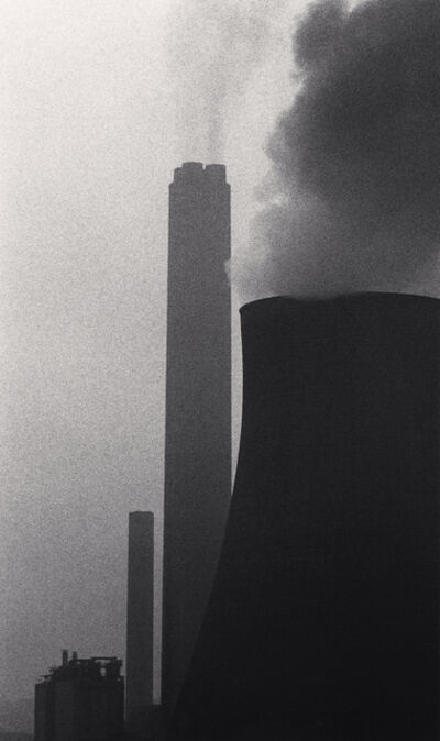 Michael Kenna, 'Ratcliffe Power Station, Study 32, Nottinghamshire, England, 1984', 1984