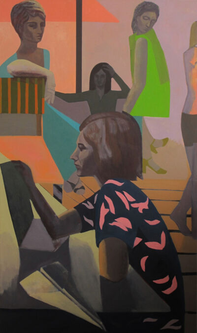 Sarah Lubin, 'Correspondences', 2017