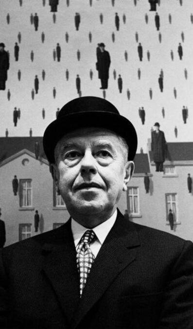 Steve Schapiro, 'Rene Magritte, Museum of Modern Art, New York, 1965', 1965