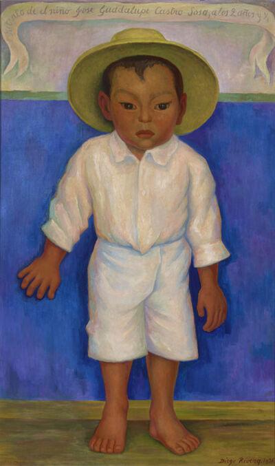 Diego Rivera, 'Retrato de José Guadalupe Castro Sosa', 1936