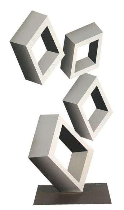 Daniel Sanseviero, 'Four Gray Boxes', 2019