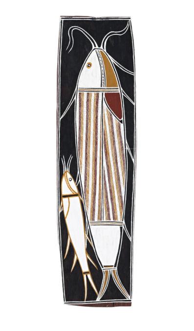 David Daymirringu Malangi, 'Djikarra (Salmon Catfish)', ca. 1980