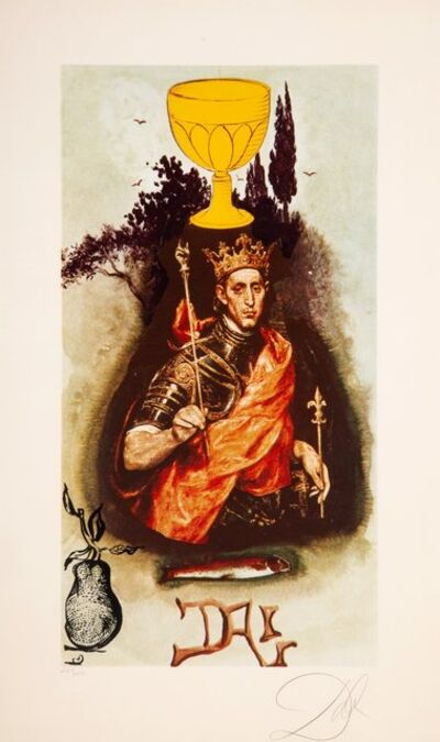 Salvador Dalí, 'King of Cups, from Lyle Stuart Tarot Prints', 1978