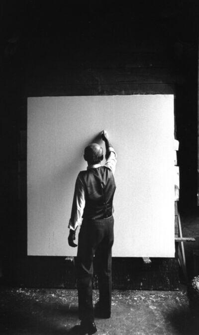 Ugo Mulas, 'Lucio Fontana', 1964