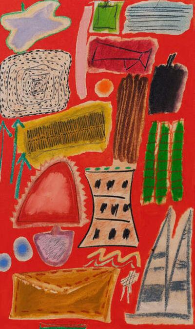 Ida Kohlmeyer, 'Symbols 82-B', 1981