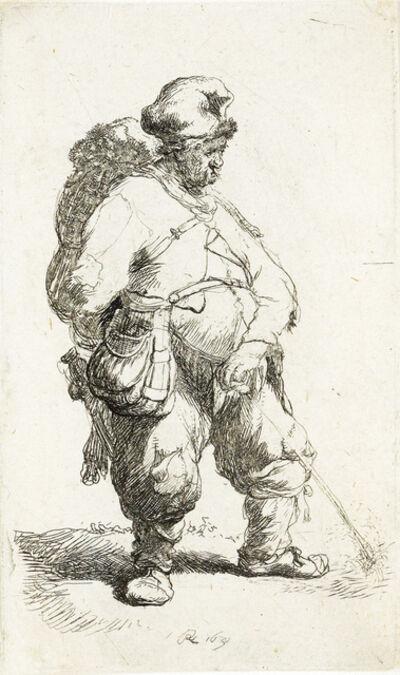 Rembrandt van Rijn, 'A Man Making Water', 1631