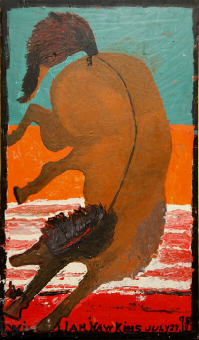 William Hawkins, 'Rearing Horse', ca. 1980