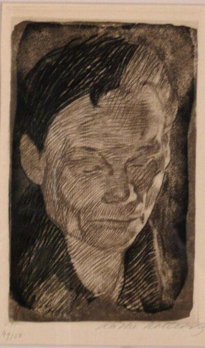 Käthe Kollwitz, 'FRAUENKOPF', 1905