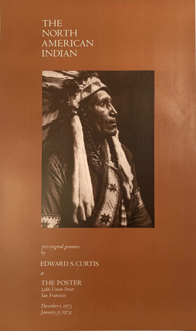 Edward Sheriff Curtis, 'THE NORTH AMERICAN INDIAN, 300 ORIGINAL GRAVURES BY EDWARD S. CURTIS ', 1973