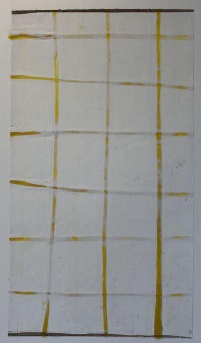 Don Maynard, 'Yellow Grid', 2011