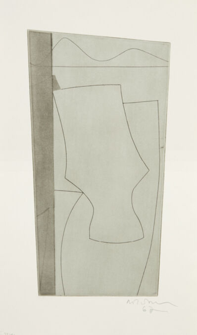 Ben Nicholson, 'Goblet Forms (Untitled)', 1962
