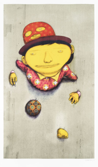 Os Gemeos, 'The Other Side', 2015