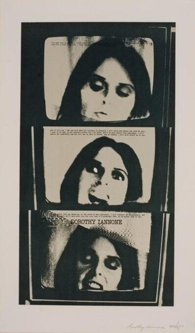 Dorothy Iannone, 'I Was Thinking Of You', 1975