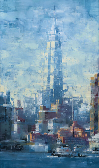 Mark Lague, 'Empire State Blue', 2020