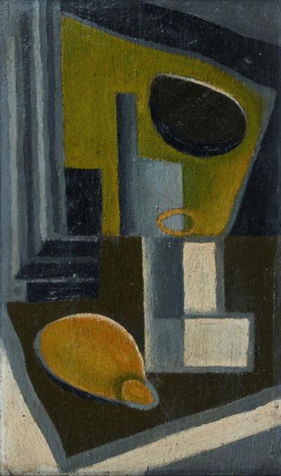 Juan Gris, 'Verre et citron', ca. 1920
