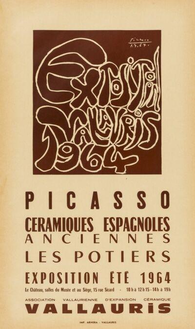 Pablo Picasso, 'Exposition, Valarius, Ceramiques Espagnoles Anciennes Les Potiers (CZW 229); Picasso, les potiers (CZW 220)'