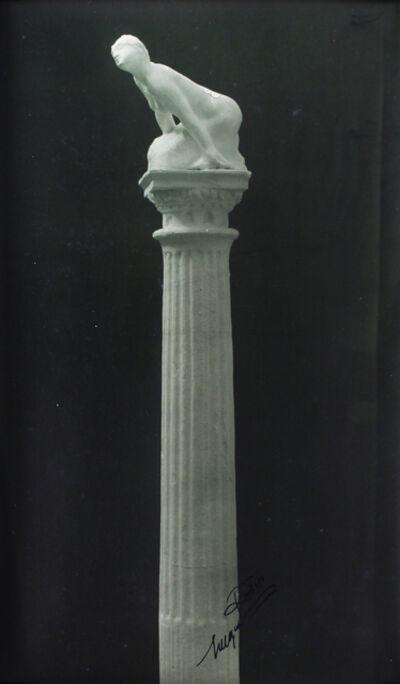 Jacques-Ernest Bulloz, 'Sphinge sur Colonne (Sphinx Atop Column) ', 1903-1917
