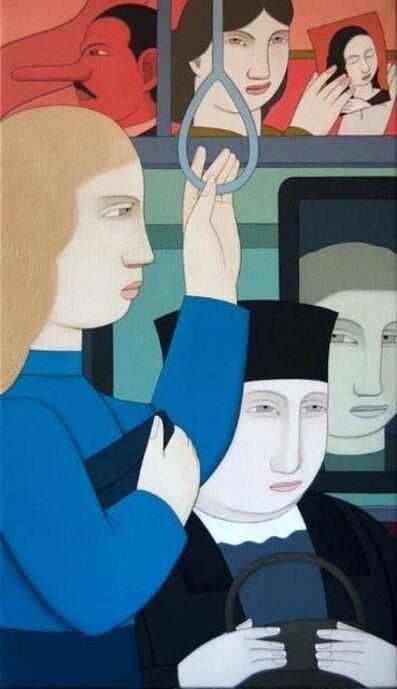 Andrew Stevovich, 'Subway Interior', 2020