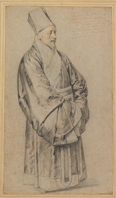 Peter Paul Rubens, 'Portrait of Nicolas Trigault in Chinese Costume', 1617