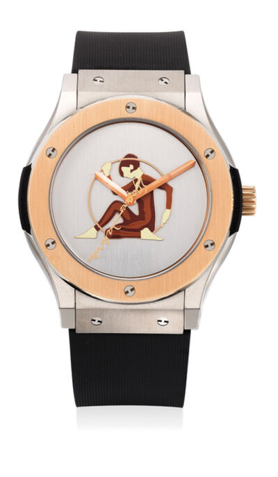 Hublot, 'A fine limited edition pink gold, titanium and stainless steel wristwatch with sweep center seconds and presentation box, numbered 1 of a limited edition of 25 pieces', Circa 2010