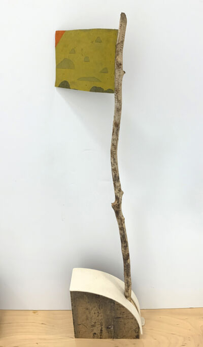 Tom Reed, 'yellow flag', 2019