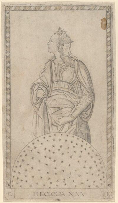 Master of the E-Series Tarocchi, 'Theologia (Theology)', ca. 1465