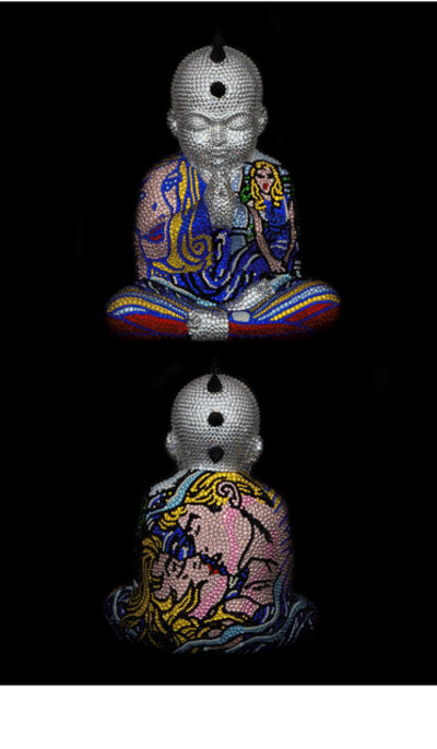 "Metis Atash, 'PUNKBUDDHA Small ""GALAXY"" feat. Lichtenstein', 2020"
