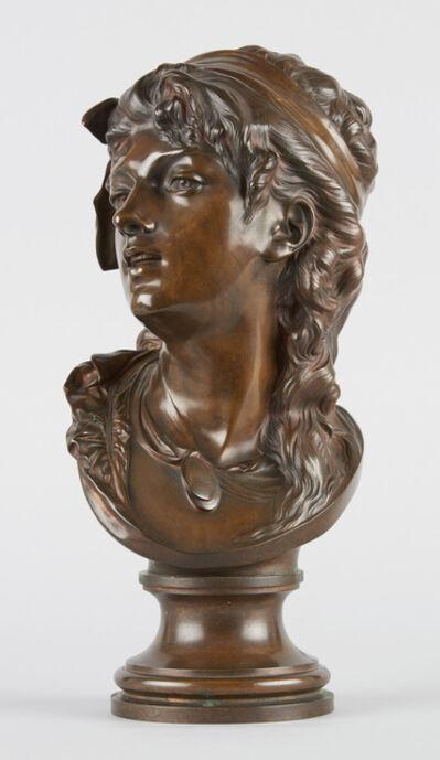 Auguste Rodin, 'Buste de Suzon', 1875-1910