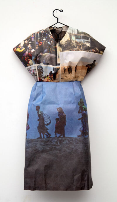 Andrea Lilienthal, 'New York Times Little Dress IV', 2018